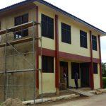 Werkstatt in Akwatia Fertigstellung